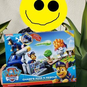NEW Paw Patrol Chase Transforming Police Car Truck